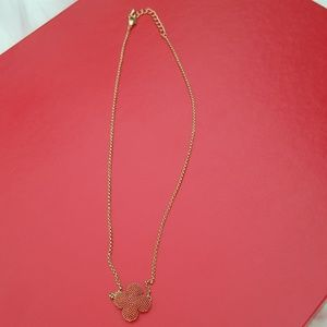 puffy cute necklace